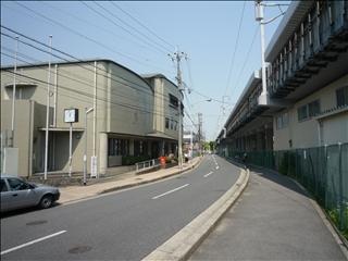 阪急大山崎駅から物件まで、ほぼ1本道_t.jpg