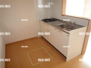 茨木市賃貸アパート Pixie|キッチンスペース.jpg