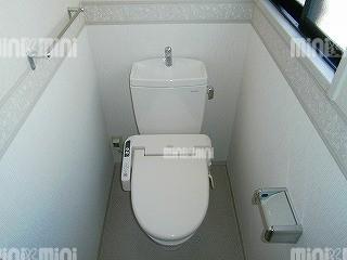 ルグランソシエS棟のトイレ